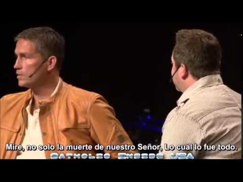 Ver Testimonio de Jim Caviezel actor de La Pasión de Cristo de Mel Gibson en Español