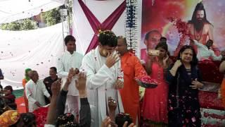 Guru dev nikhil... Holi sebir in Jodhpur gurudham.. 2016. Guru dev dancing & singing vedio.