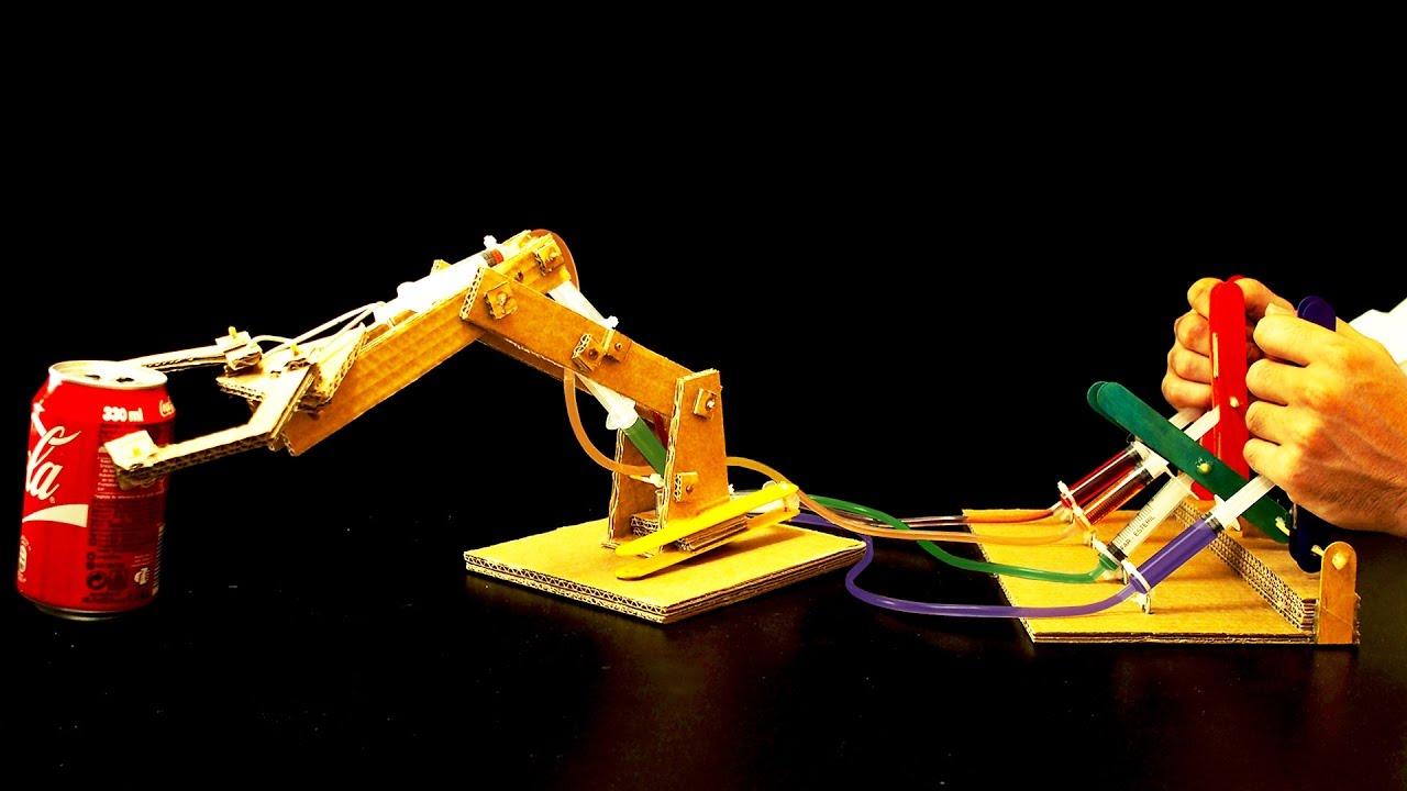 Como hacer tu propio brazo hidraulico casero de carton - Como hacer membrillo casero ...