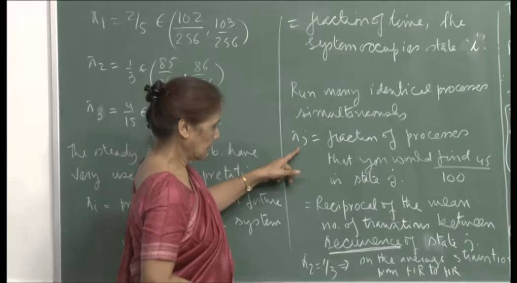Mod-01 Lec-27 State prob., First passage and First return prob