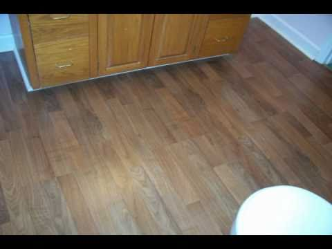 Pergo Floor Install In A Bathroom Youtube