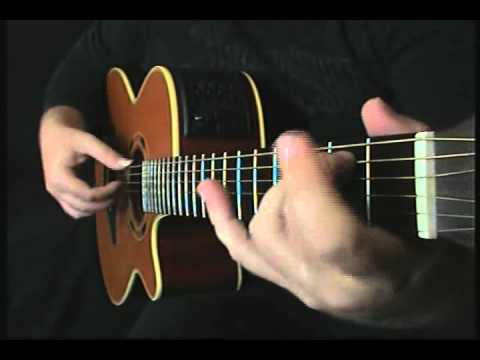 how to play dance dance on acoustic guitar