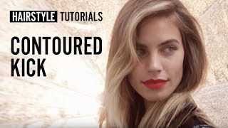 How to style contoured kick? by Siobhan Jones | L'Oréal Professionnel tutorials