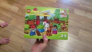 Видео обзоры LEGO Duplo Лесные животные