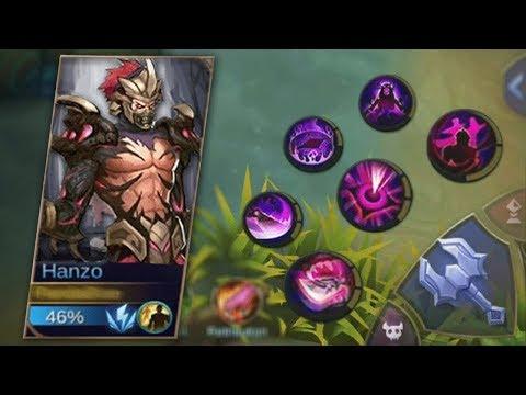 NEW HERO HANZO ALL SKILLS!   Mobile Legends