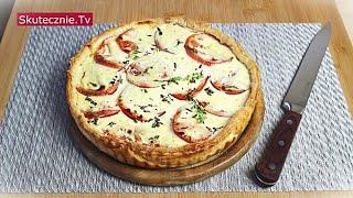 Tarta francuska z cebulą i pomidorem :: Skutecznie.Tv