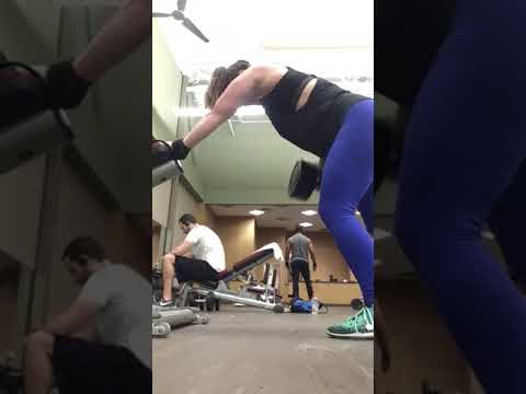 Workout 2-4 Single Arm Row and dB shoulder press 17feb18
