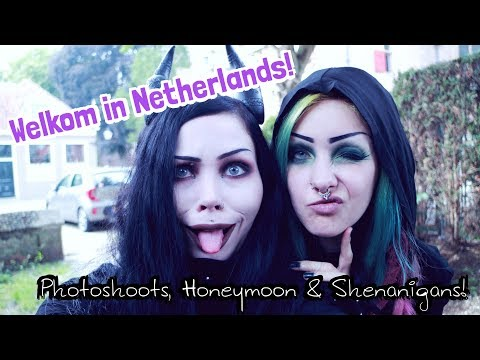 WELKOM IN NETHERLANDS! - Photoshoots, Honeymoon & Shenanigans || ReeRee Phillips