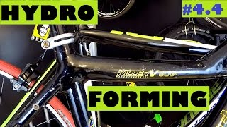 Hydroforming explained - a cool way of shaping road and mountain bikes. What is it?