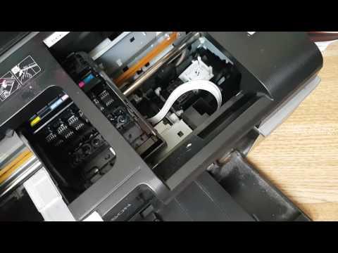 Как почистить принтер epson t50