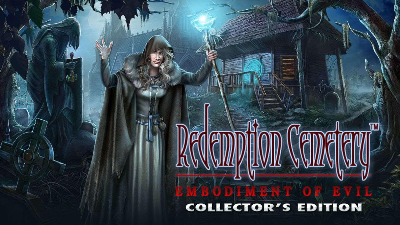 New Hidden Object Game Redemption Cemetery Embodiment Of Evil