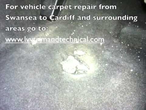 vehicle carpet repair swansea - YouTube