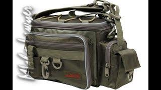 Обзор сумки для спиннингиста. Классная вещь