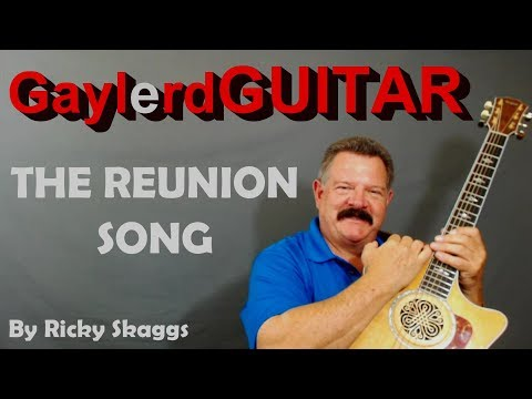 The Reunion Song by Ricky Skaggs - BEGINNER GUITAR LESSON | PREVIEW