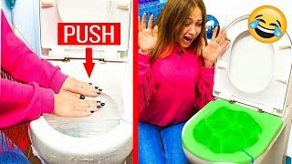 10 Sibling Prank Wars! Sister vs Brother Pranks! | 23 BEST PRANKS AND FUNNY TRICKS