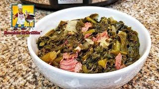 Southern Collard Greens | Crock Pot Recipe
