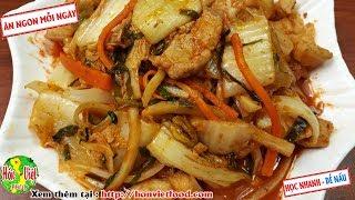 ✅ Làm Kim Chi Cải Thảo Hàn Quốc Ngon Đúng Chuẩn Chi Tiết   Hồn Việt Food