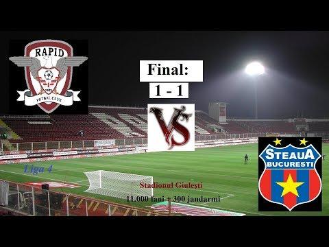 [LIVE] Academia Rapid 1 - 1 CSA Steaua [Giulești / Liga a 4-a]