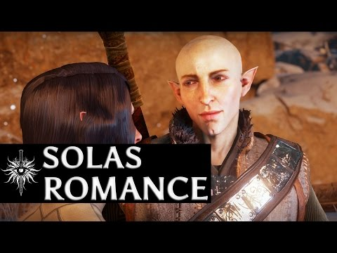 Dragon Age: Inquisition - Solas Romance - Missing Vallaslin? (Sera's comment)