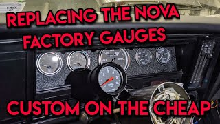 Chevy Nova Gauge Cluster Upgrade, Monitoring Vitals For Cheap!