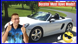 Porsche Boxster Mods/Accessory Must Haves