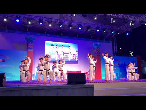 Ho Chi Minh city- Gyeongju world culture expo 2017 taekwondo performance