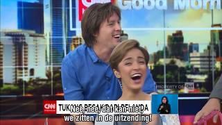 Becak Amsterdam CNN Indonesia
