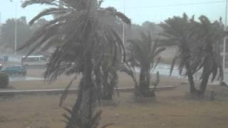 Enorme pluie et tempête à Djerba | 24.4.2013 | 5:04pm