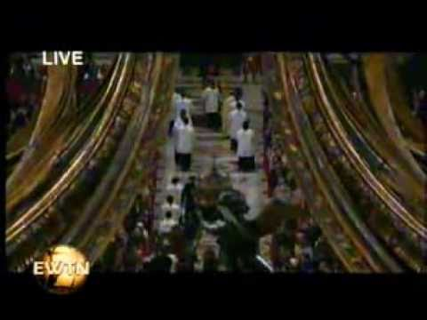 Heaven on Earth with Pope Benedict XVI (Dec-2010) EWTN