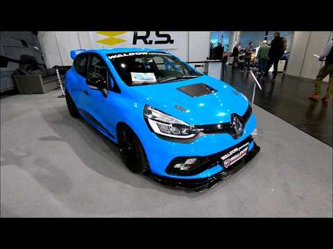 RENAULT CLIO R.S. TROPHY  WP 250+ RS RACING CAR BY WALDOW ! NEW MODEL WALKAROUND !