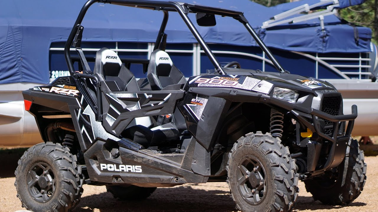 2017 Polaris Rzr 900 Trail On Atv Trails