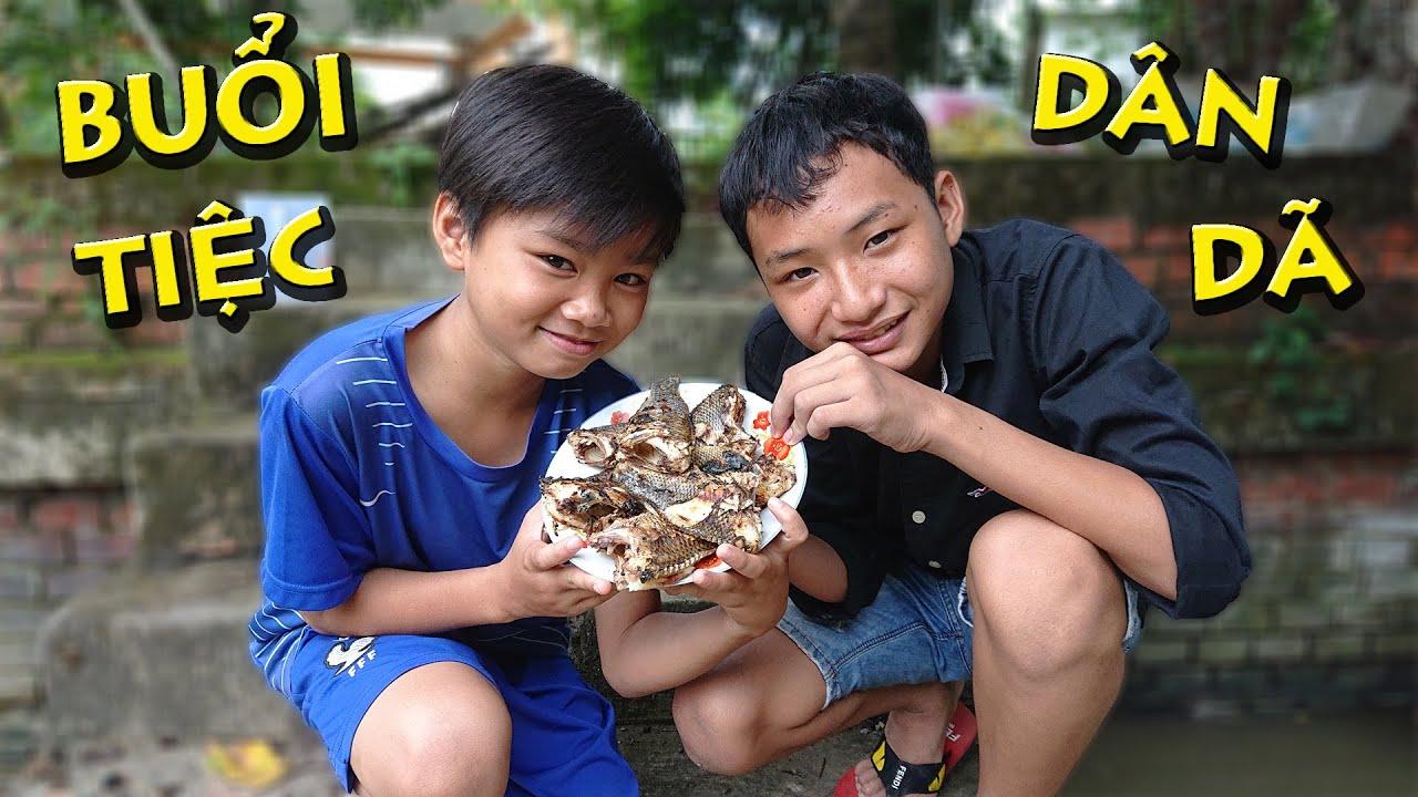 Anh Già Câu Cá Nướng Ăn Mừng Nghĩ Hè | Fishing | Thái Già Vlogs