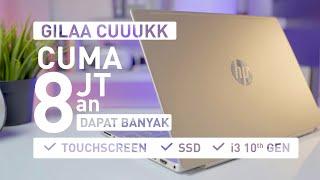 Laptop Mahasiswa Yang PALING KECE & MURAH | Review HP Pavilion 13 AN1033TU