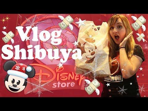 Le vlog de tous les craquages au Disney Store de Shibuya 🎄 Merchandising Tokyo 2018