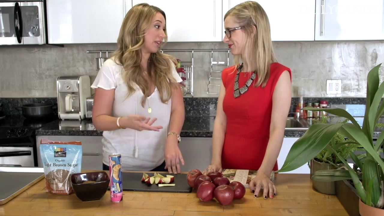 In The Kitchen: Haylie Duff Makes Apple Pie Crescent Rolls ...
