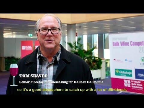 Tom Seaver at the World Bulk Wine Exhibition 2017