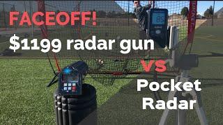 Best Baseball Velocity Radar Gun - Review of the Pocket Radar