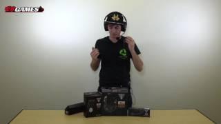 turtle beach elite pro headset tactical controller tournament mic unboxing   eb unboxes
