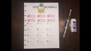 My 2019 Debt Snowball | How long will it take me to pay $10,000 of debt? | part-time | BudgetWithBri