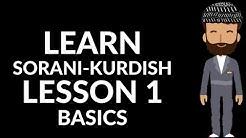 Learn Kurdish with us - Sorani - 01 - The foundations - The Kurdish Language