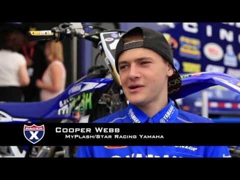 Exclusive Cooper Webb's Pro Motocross Debut