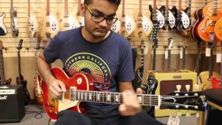 Video Kush Upadhyay playing Leo's Gibson 1959 Les Paul Reissue download MP3, 3GP, MP4, WEBM, AVI, FLV Juni 2017