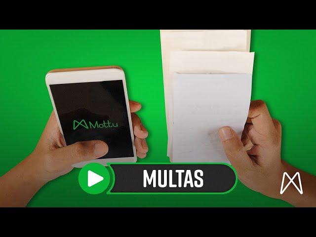MULTAS DE TRÂNSITO   MOTTU - ALUGUEL DE MOTO PARA ENTREGADORES