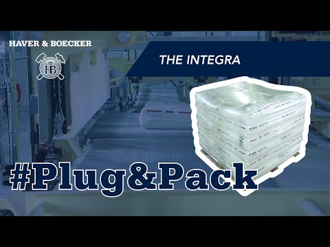 INTEGRA® IST1 ADAMS® - Plug & Pack Your Powder In PE Bags And Palletize On Ground Level