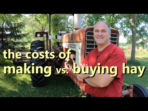 Should You Make Or Buy Your Hay? Here's The Math For Small Farms