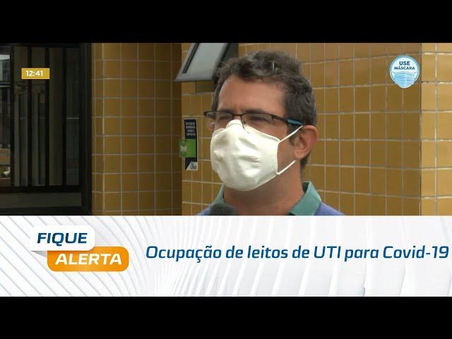 Ocupação de leitos de UTI para Covid-19 ultrapassa margem de segurança, segundo observatório da UFAL
