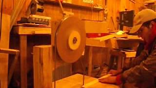 My Wooden Bandsaw (matthias Wandel's Plans)