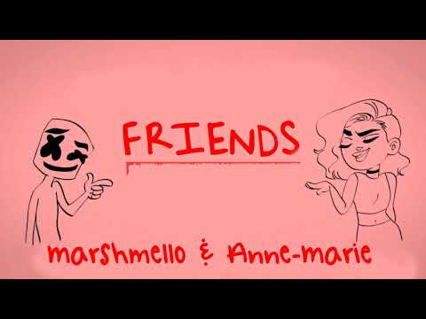Marshmello & Anne-Marie - FRIENDS (Instrumental)
