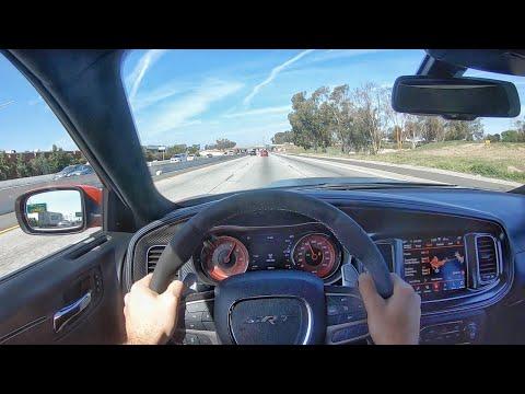 2020 Dodge Charger SRT Hellcat Widebody POV Test Drive (3D Audio)(ASMR)