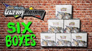 Opening 6 Pokemon Ultra Prism Booster Boxes! (entire case)